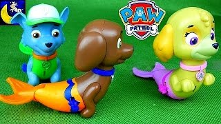 Paw Patrol Mer Pup Toys! Mermaid Magic Skye, Rocky & Zuma Plus All Star Pups & Jungle Rescue Toys!