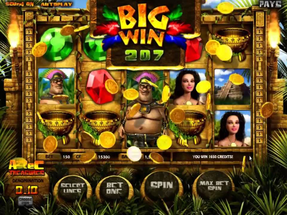 Play 5 treasures slot online