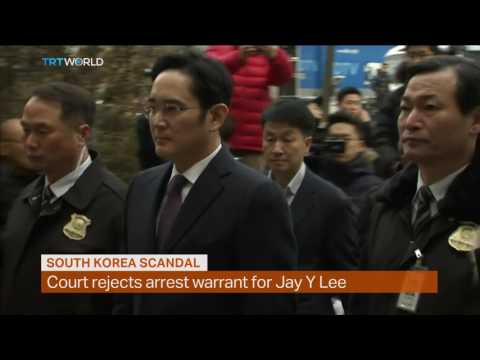 Money Talks: South Korean court refuses arrest warrant for Samsung head