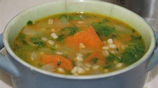 מרק ירקות עם גריסים בקלי קלות