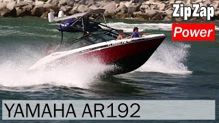 Yamaha AR192 on Rough Water