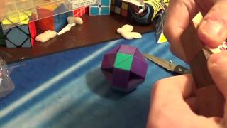 Unboxing A Wooden Rubik's Snake Puzzle
