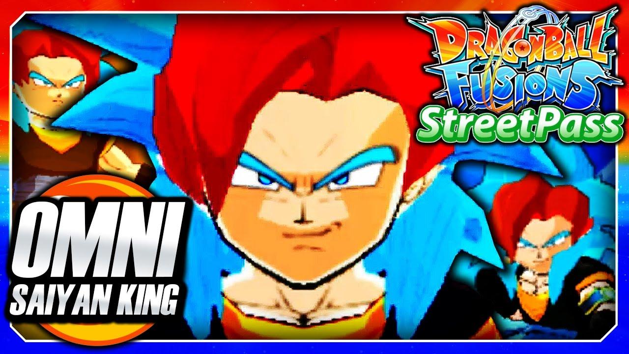 Dragon Ball Fusions 3DS English: Omni King of Saiyans ...