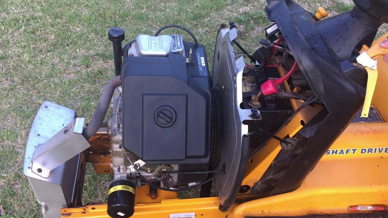 Cub Cadet Kohler Engine: Cub Cadet 125 Kohler 10HP K241A