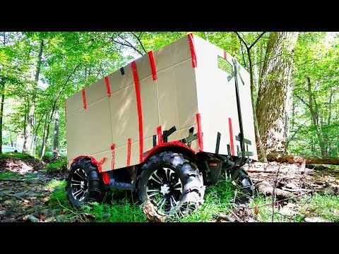 BOX FORT TANK CHALLENGE!!