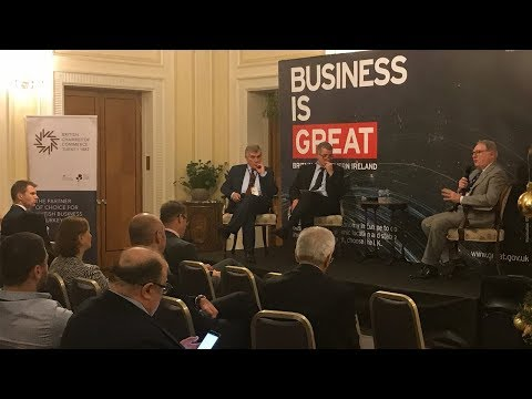 Great British Business Club Launch Event in Ankara