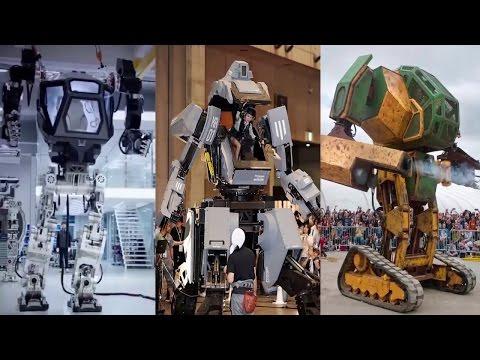 로봇�후 3개국 - 한 미 �(韓 美 日) 개발 로봇들 -World Robot ~ ROK / JPN / USA