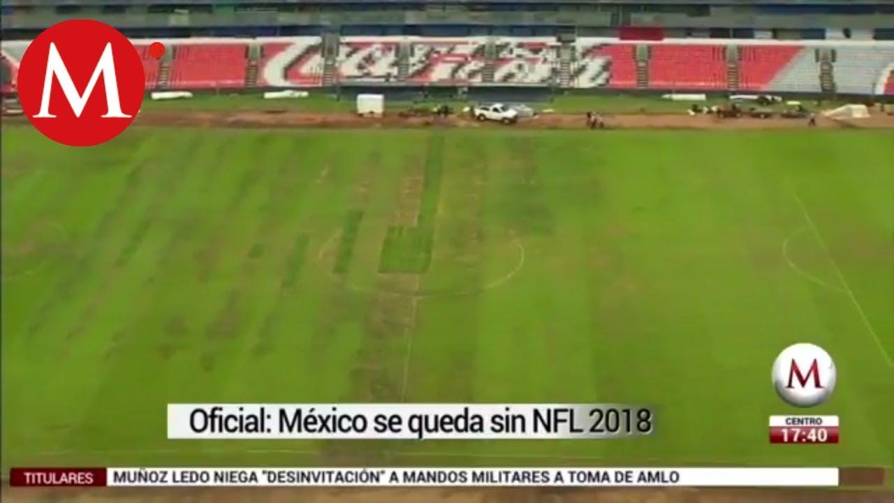 Pérdidas por cancelación de partido de la NFL en México - YouTube 0a16d2cee39