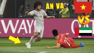 VIETNAM vs UAE - Giấc mơ Worldcup Qatar 2022 - PES19