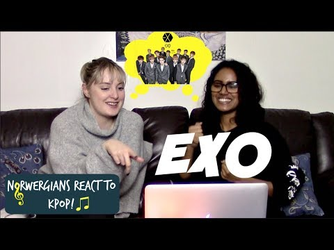 Norwegians React to KPOP! #10 // EXO *LIVE STAGE EDITION*