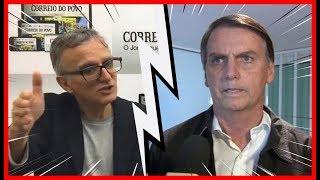 """Jornalista pede DEMISSÃO ao vivo durante entrevista com Bolsonaro """"ME SENTI HUMILHADO"""""""
