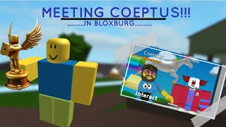 Meeting the Creator of Bloxburg (Coeptus) l Bloxburg (ROBLOX)