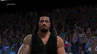 Roman Reigns vs Sheamus [2k15]
