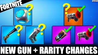 NEW GRAPPLING HOOK + WEAPON AND ITEM RARITY CHANGES | FORTNITE