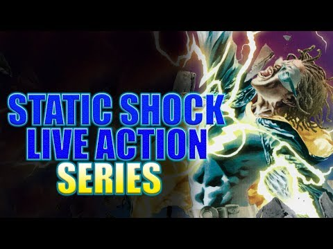 STATIC SHOCK Coming To DC Streaming Service?!