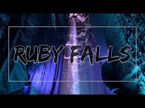 Ruby Falls At Lookout Mountain Chattanooga Tennessee