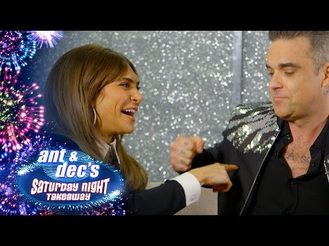 Robbie Williams and Ayda Field Play Would You Rather?