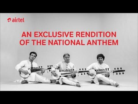 EXCLUSIVE: National Anthem by Ustad Amjad Ali Khan, Amaan & Ayaan Ali Bangash