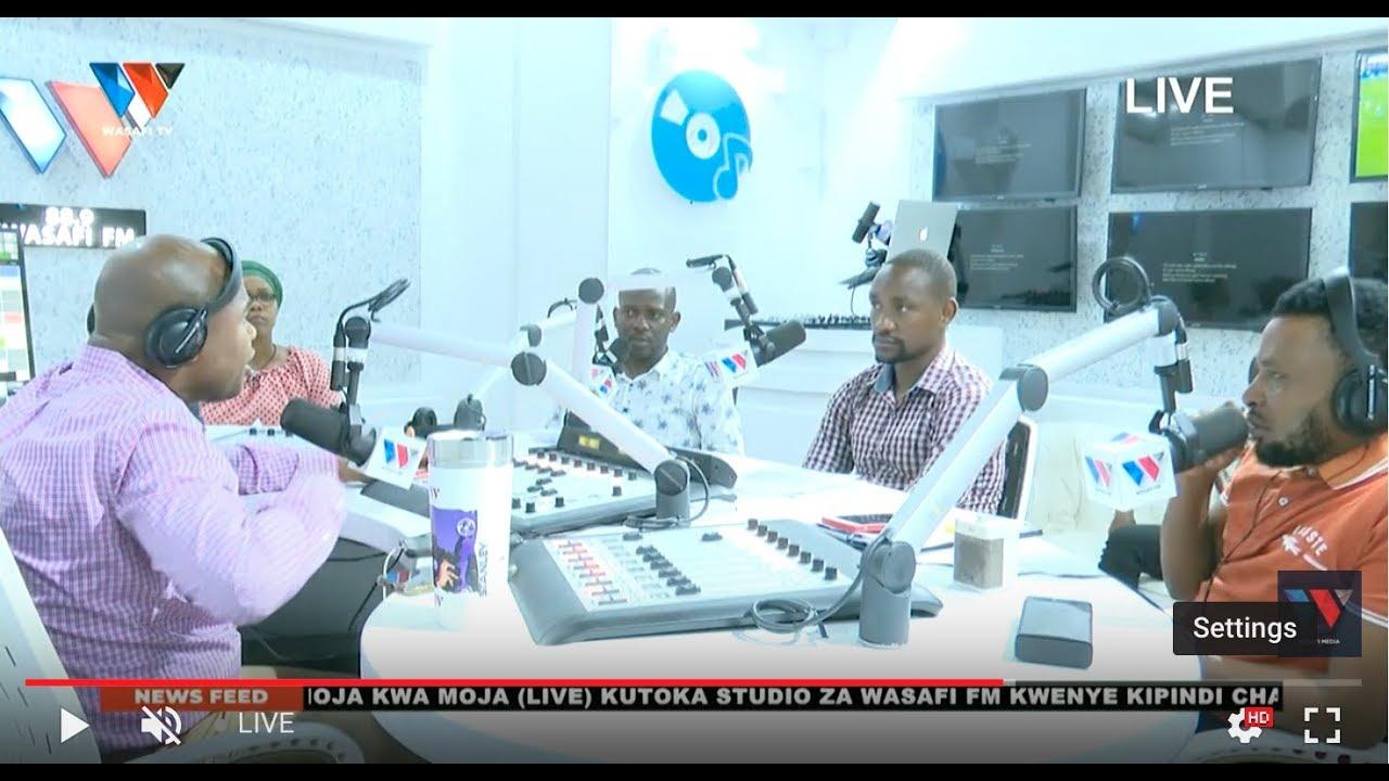 #LIVE: SPORTS ARENA NDANI YA WASAFI FM   - FEBRUARY 19. 2020
