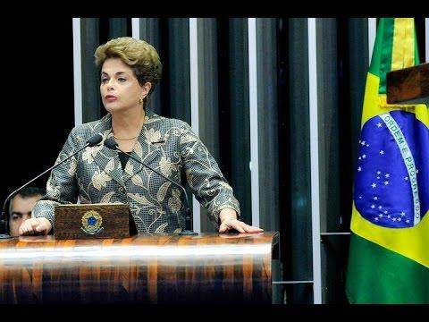 Confira os principais momentos da defesa Dilma Rousseff no Senado