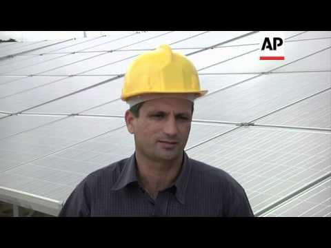 Cuba opens first solar farm that doubles the country's capacity for solar power