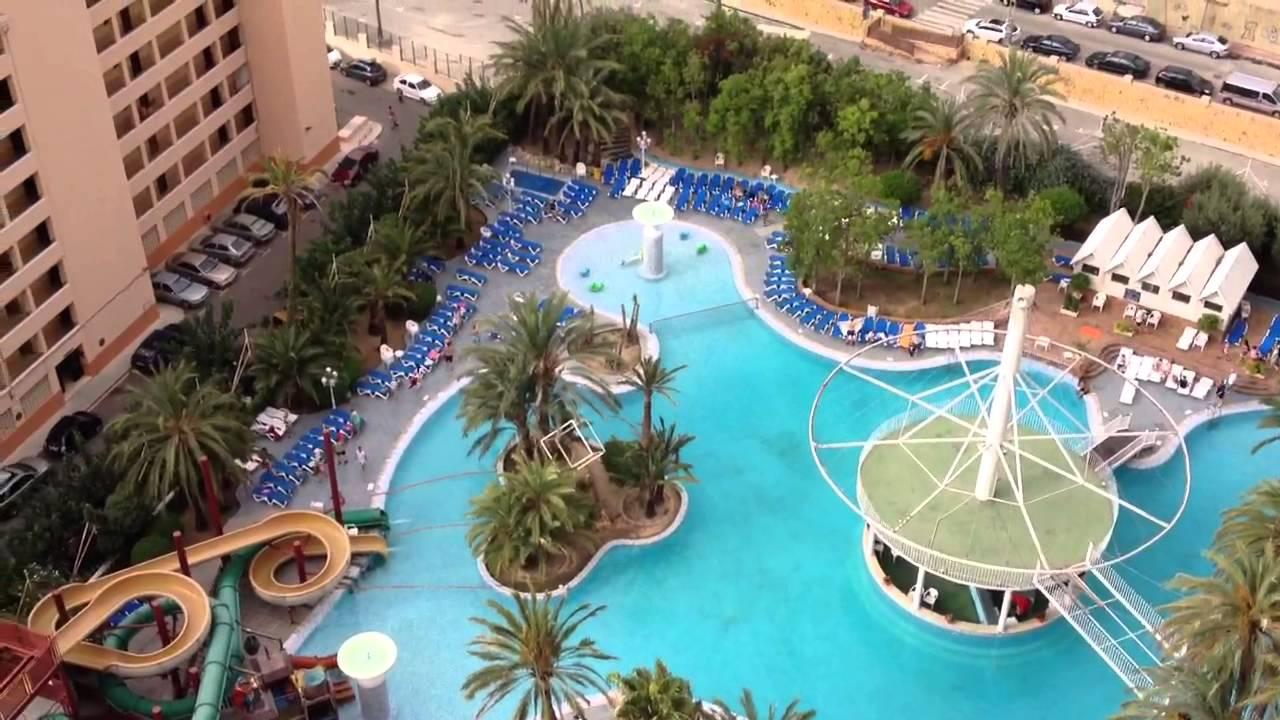 Sun bed madness at hotel magic monika benidorm youtube - Apartamentos magic monika holidays ...
