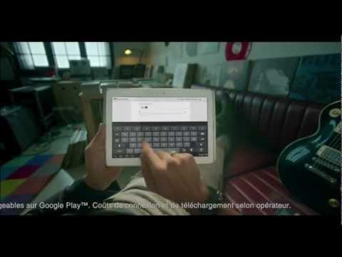 Vidéo VOIX OFF - Samsung Galaxy Tab 2
