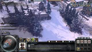 Company of Heroes 2 ardennes assault  Marche airborne  easy win expert