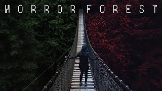 Видеоурок: Фильм ужасов, Эффект Кровавый Лес / Photoshop Tutorial: Horror Film Forest Photo Effect