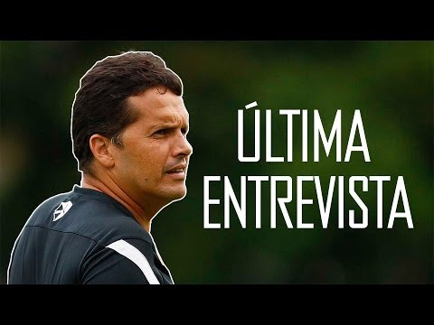 Última entrevista do técnico Claudinei Oliveira pelo Santos FC