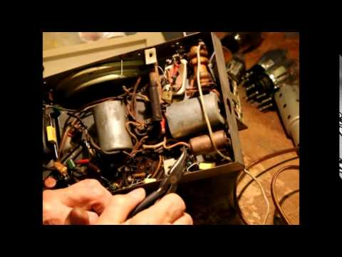repairing an old radio mpeg2video