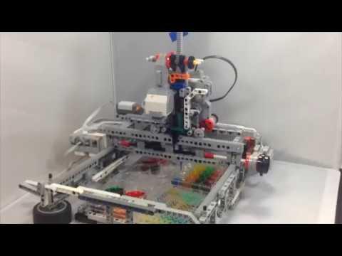 Liquid-handling Lego robots 3: 2D robot details