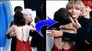BTS being gentlemen towards other female idols l RE-UPLOAD