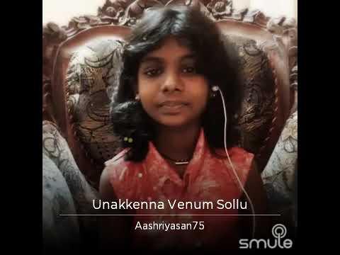 """Unakkenna venam sollu"" by Aashriya Santhosh"