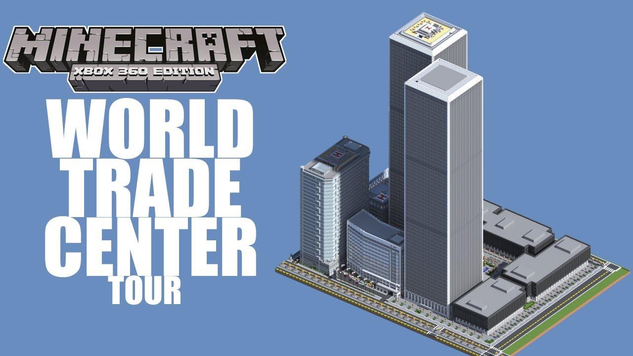Minecraft Xbox 360 Edition World Trade Center Tour YouTube