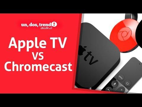 Apple TV, Chromecast o SmartTV ¿cuál es el mejor?