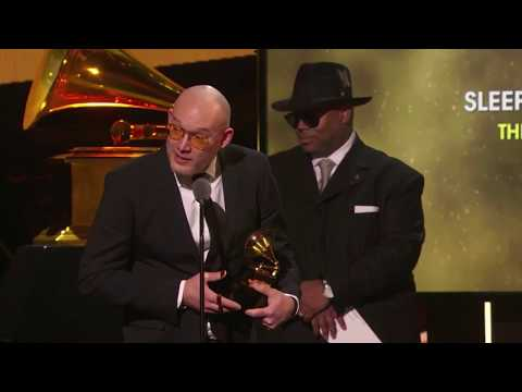 The National won Best Alternative Music Album for 'Sleep Well Beast' | 60th Annual Grammy Awards