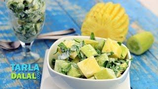 Pineapple Cucumber And Celery Salad (multi Vitamin Recipe) By Tarla Dalal