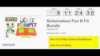 Nickelodeon Fun N Fit Bundle Wii Countdown