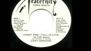 "Gary Edwards - ""Every Time I Fall In Love"""