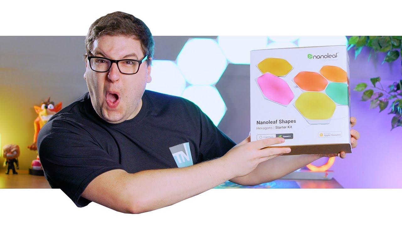 Nanoleaf Hexagons Unboxing And In-Depth App Look