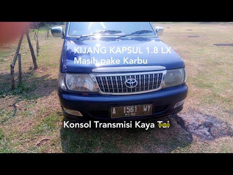 Toyota Kijang LX 1.8 M/T (2004) - Indonesia