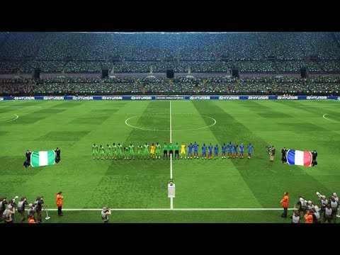 Nigeria vs France FINAL | Full Match | FIFA World Cup 2018 Russia | Pes Gameplay
