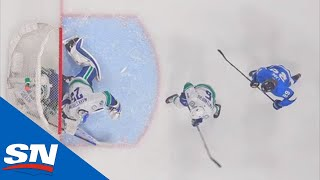 Jets Score Three Times in 37 Seconds, Only One Goal Counts
