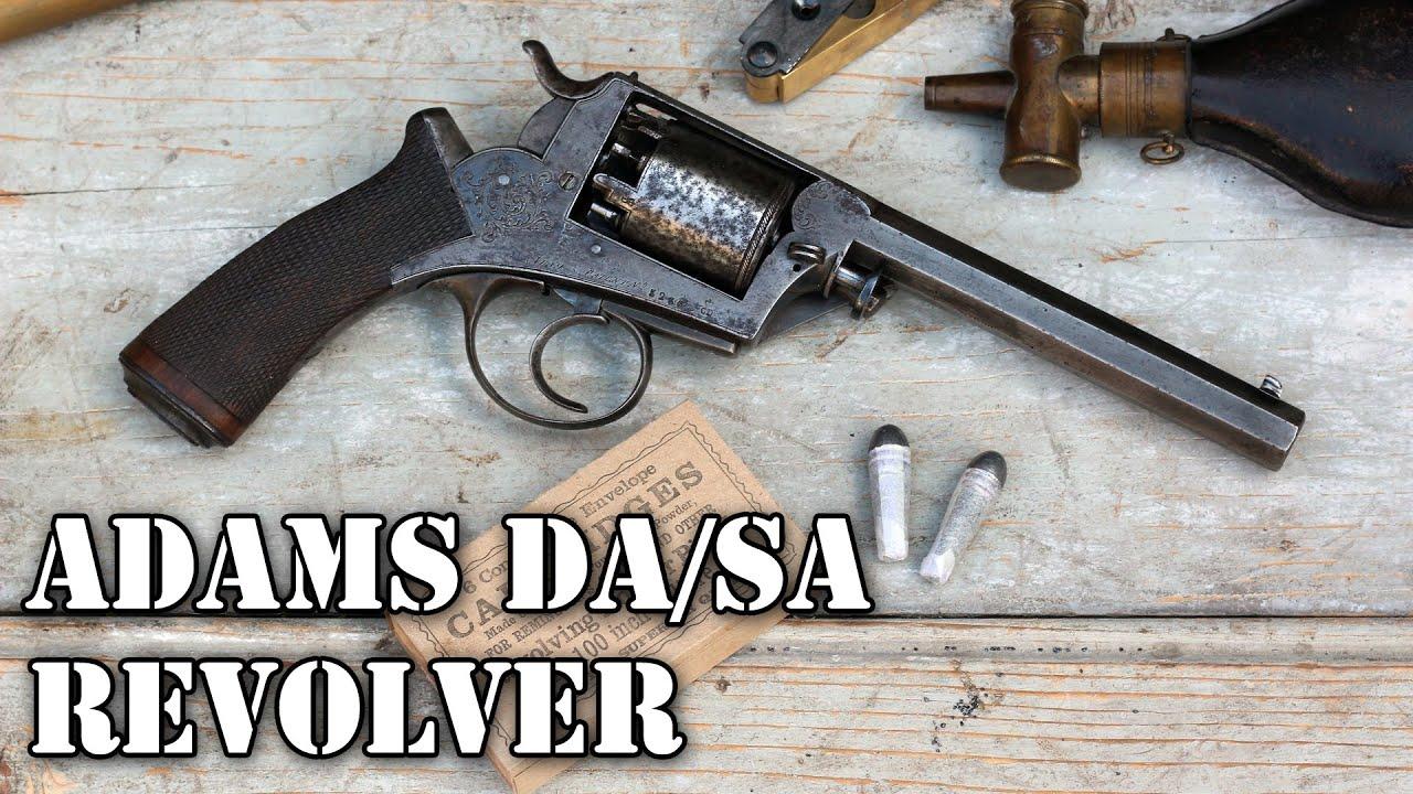 Shooting the Adams DA/SA percussion revolver