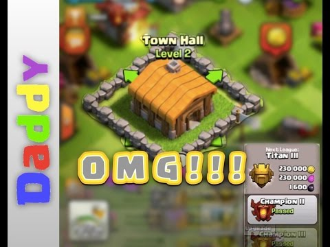 Clash Of Clans  | TH2 At 3800!! WORLDS HIGHEST TOWNHALL 2