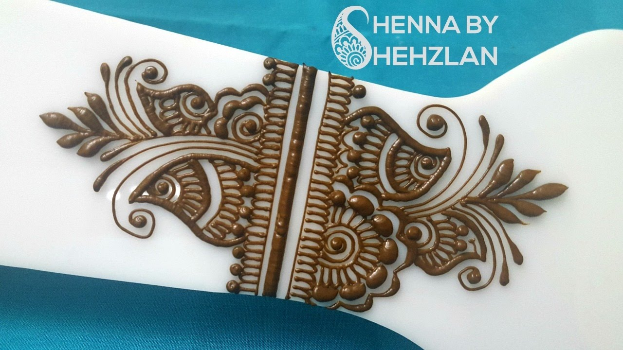 Henna By Shehzlan How To Henna Tutorial 62 Gulf Arm Band Youtube