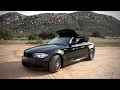 BMW 135i Convertible - E88 on SoCal Roads