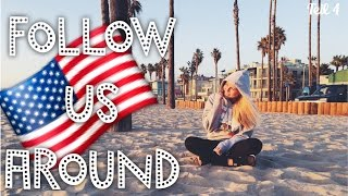 Unsere krasse Rückreise - L.A. 🇺🇸 FOLLOW US AROUND +  TOLLE Verlosung - TEIL 4 ♡ | Dagi Bee