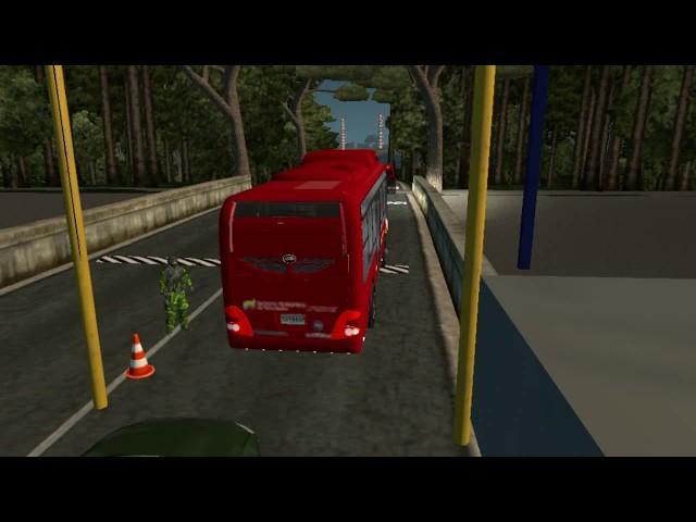 Bus Yutong Venezolano ETS2 (Ruta, rumbo a Tucupita Estado Delta Amacuro)